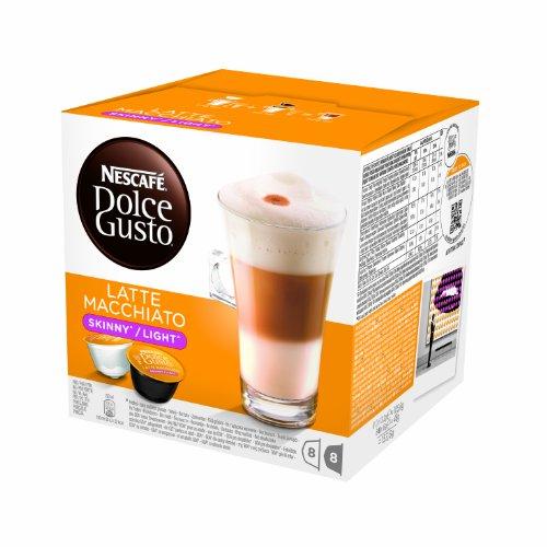 Nescafe Dolce Gusto for Nescafe Dolce Gusto Brewers Skinny Latte Macchiato 16 Count