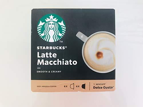 Starbucks Dolce Gusto LATTE MACCHIATO coffee pods for Dolce Gusto Machines 66 pods1 box