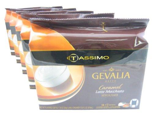 Gevalia Caramel Latte Macchiato Coffee 1459 Ounce -- 5 per case