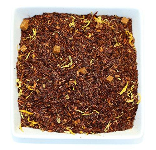 Tealyra - Caramel Latte - Red Bush Rooibos - Loose Leaf Tea - Decadent Dessert Tea - Relaxing and Calming Bedtime - Healthy - Antioxidants Rich - Caffeine-Free - 224g 8-ounce