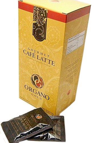 1 Box Organo Gold 100 Certified Organic Ganoderma Gourmet Coffee Cafe Latte Free Express Shipping