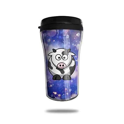 Cute Cartoon Squabby Moo Simple Modern Coffee Cup Vacuum Insulated Vacuum Cup