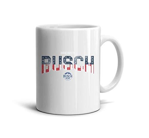 ELIBEZA Trendy Travel Mugs White Ceramic Coffee Mug Birthday Teamug Gift for Mom 330ML Home Office