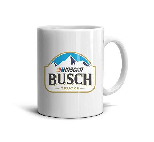 ELIBEZA Trendy Travel Mugs White Ceramic Coffee Mug Party Teamug Gift for Family 330ML Home Office