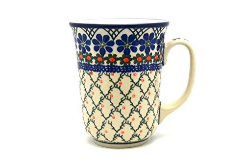 Polish Pottery Mug - 16 oz Bistro - Primrose