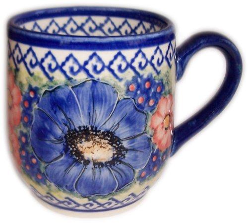 Polish Pottery Mug Coffee or Tea Cup 10 oz - Isabelle