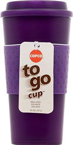 Copco Acadia Travel Mug 16-Ounce Translucent Purple