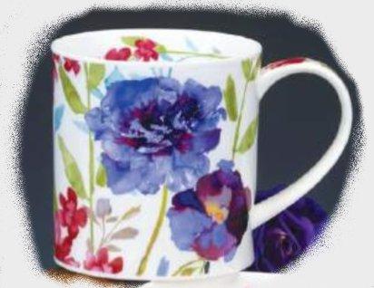Dunoon Orkney Bloom Purple Mug