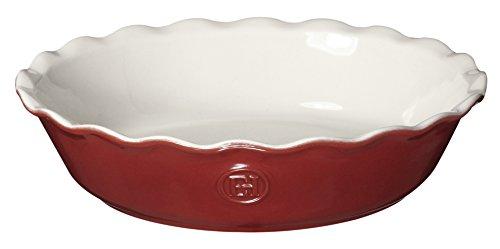 "Emile Henry Hr Modern Classics Pie Dish, 9"", Red"