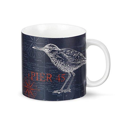 DEMDACO Bird Coffee Mug Multicolored