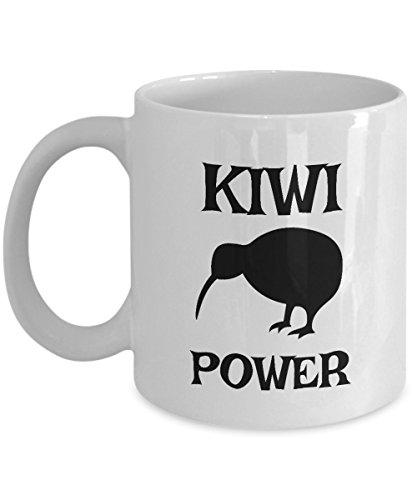 Kiwi Bird Mug - White Ceramic Kiwi Bird Coffee Mug