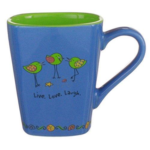Shore Birds Coffee Mug Live Love Laugh Dishwasher and Microwave Ok