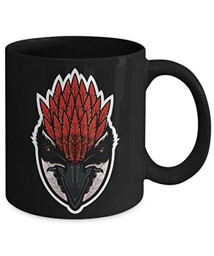 Woodpecker Strong-Billed Hole Drilling Bird Coffee Mug