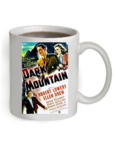 Dark Mountain Coffee Mug OZ The Poster is printed on both sides of the Mug