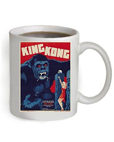 King Kong Coffee Mug OZ The Poster is printed on both sides of the Mug