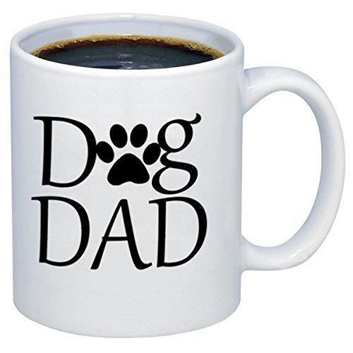 ZHRNG Dog Dad Funny Ceramic Coffee Mugs oz White
