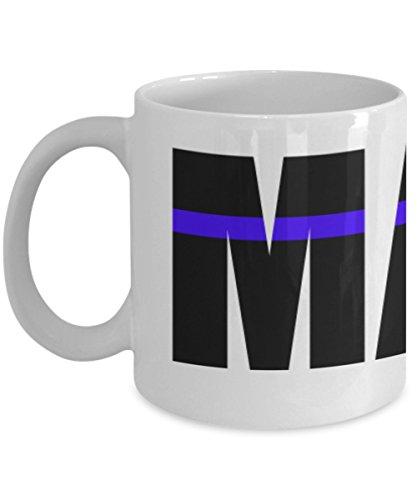 Maine Mug - Maine Thin Blue Line Mug - Thin Blue Line - Maine Coffee Mug - Police Mug