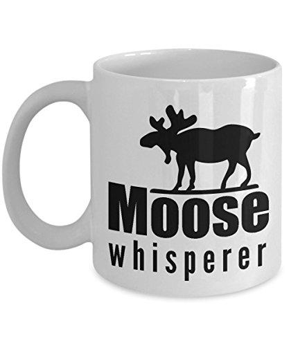 Moose Whisperer Maine Coffee Mug Funny Gag Gift For Her Or Him