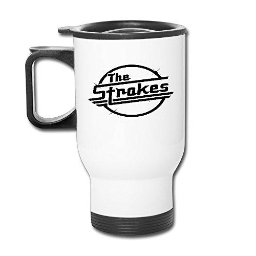 The Strokes Logo Travel Mugs Tumbler Coffee Mugs