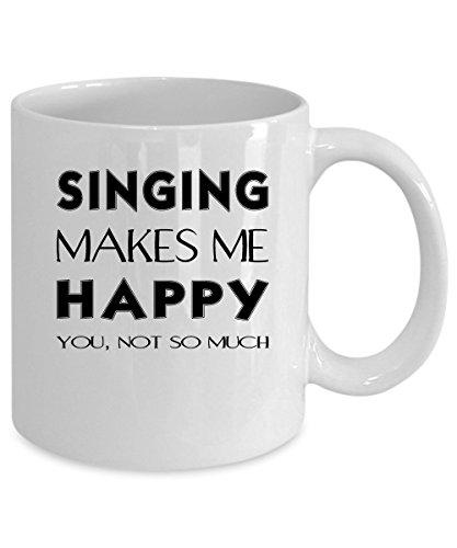 Singing Coffee Mug 11 oz Singing gift