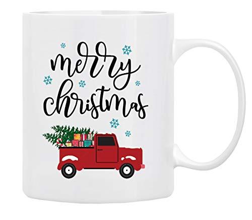 Christmas Coffee Mug Holiday Coffee Mug MERRY CHRISTMAS Funny Christmas Movie Mugs from family friends -Mug in Decorative Christmas Gift Box11 Oz