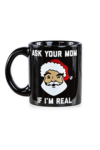 Funny Christmas Coffee Mugs Holiday Themed Coffee Cup Mugs Ask Your Mom