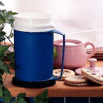 Sammons Preston Insulated Mug with Lid Blue 12 oz
