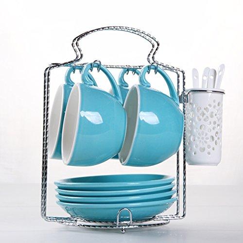 European-style etched coffee mugBulk ceramic coffee mug set-I