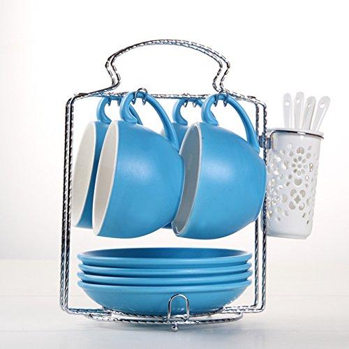 European-style etched coffee mugBulk ceramic coffee mug set-U