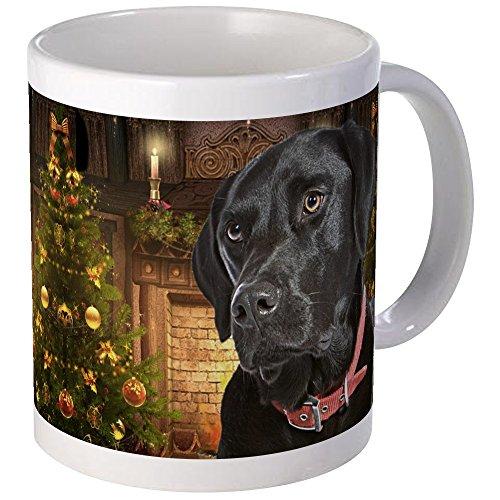 CafePress - Black Lab Xmas Mug - Unique Coffee Mug Coffee Cup