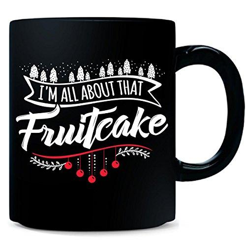 Ugly Christmas Sweater Gift For Fruitcake Lovers Xmas - Mug