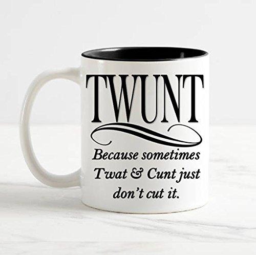 TWUNT Coffee Mug Ceramic 11 oz Funny Mugs Christmas Mug Holiday Gifts for Dad Mom Best Friends