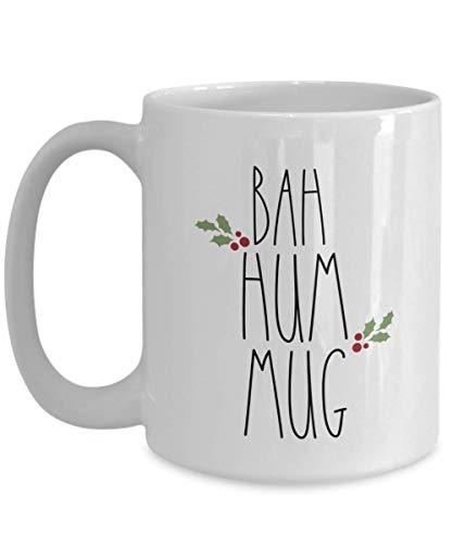 Bah Hum Mug - Funny Christmas Coffee Mug