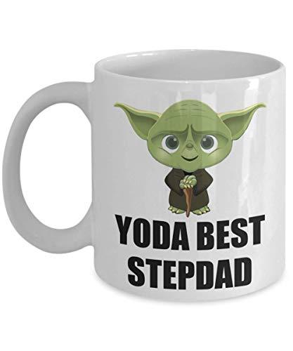 Yoda Best StepDad Birthday Gift - Best StepDad Star Wars Fans Gifts - Yoda Collectors - Funny Stepdad Mug - Funny Christmas Coffee Mug