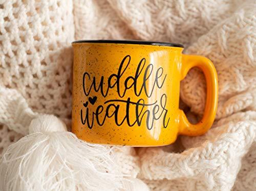 Cuddle Weather Campfire Mug - Fall Decor - Rustic Decor - Autumn Gifts - Fall Coffee Mug - Pumpkin Spice Latte - Gift for Friend