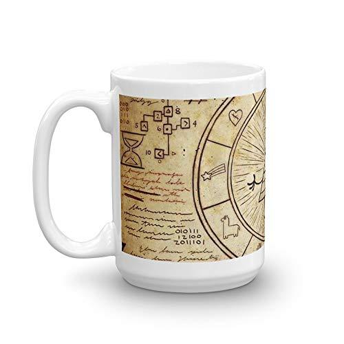 Gravity Falls Bill Cipher Mug 15 Oz White Ceramic