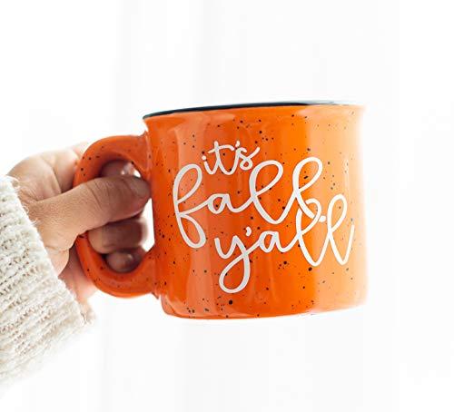 Its Fall Yall - Pumpkin Campfire Mug - Fall Decor - Rustic Decor - Good Morning Pumpkin - Fall Coffee Mug - Pumpkin Spice Latte - Gift for Friend