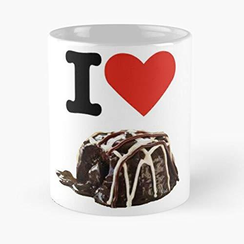 I Love Triple Chocolate Meltdown Classic Mug - 11 Oz Coffee Mugs Ceramic The Best Gift For Holidays Item Use Daily Moniloix