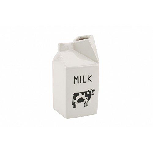 CGB Giftware Ceramic Cow Milk Jug Creamer One Size White