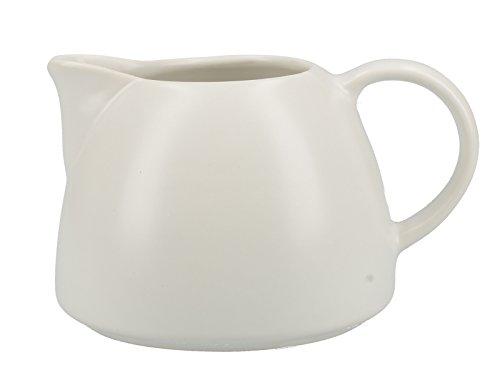 La Cafetière Barcelona Collection 380ml  134 fl oz Ceramic Milk Jug - White