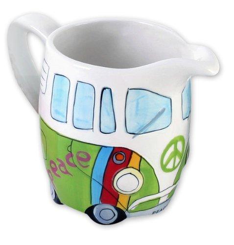 Volkswagen Merchandise - VW Camper VanBus - Ceramic MilkCream JugDispenser Hippie Style