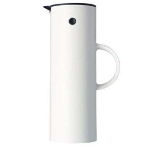 Stelton 1-Liter Vacuum Jug White