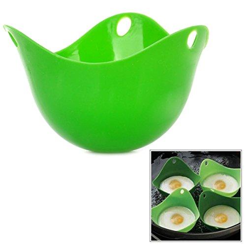 Silicone Egg Poach Pod Poacher - Green