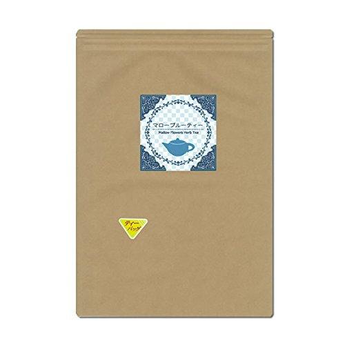 Mallow Blue Tee 1gX40 tea bag set of 2 color changes strange herbal tea  malva sylvestris-mallow Blue