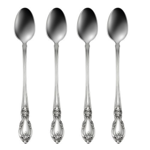 Oneida Louisiana Iced Tea Spoons Set of 4