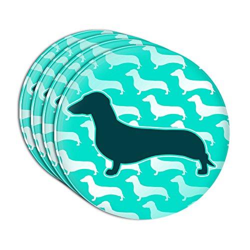 Dachshunds Galore Acrylic Coaster Set of 4