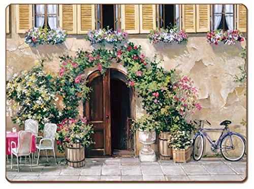 Cala Home 4 Premium Hardboard Placemats Table Mats Tuscan Doorways 4 Designs 81851