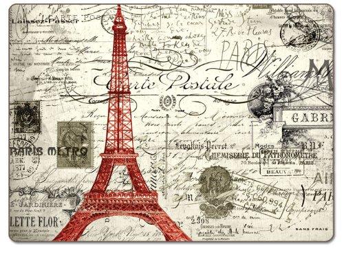 Counterart Vintage Paris Hardboard Placemat Set of 2