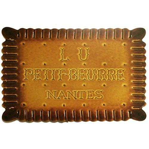 FRENCH VINTAGE PLACEMAT RETRO AD COOKIES NANTES PETIT LU