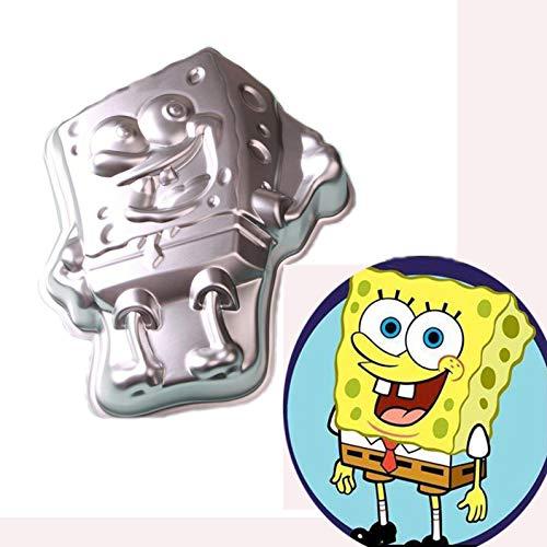 AYGYIYH 11Inch Baby Aluminum Alloy 3D Cake Mold Baking Mold Tin Cake Plate - Baby